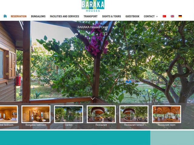 Webseite für Baraka Cirali der Online Agentur webamt.de
