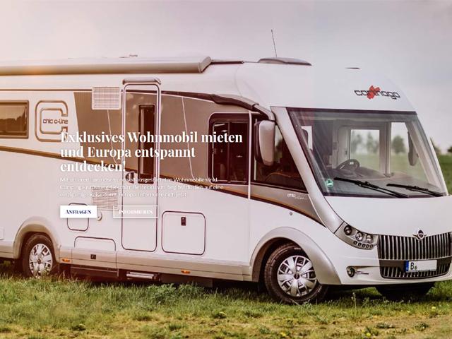 Webseite für Miete Dein Wohnmobil der Online Agentur webamt.de